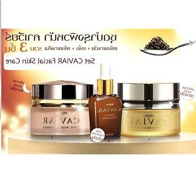 Set Caviar Whitening Day Cream Night Repair Treatment Extrem
