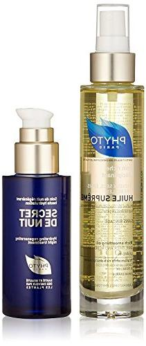 2 Piece Set: Huile Supreme Rich Smoothing Oil 3.4 oz, Secret