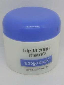 Neutrogena Light Night Cream 2.25 OZ  Non-Comedogenic Moistu