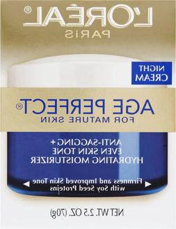 Loreal Age Perfect Night Cream for Mature Skin 2.5 Oz
