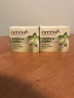 Lot of 2 Aveeno Active Naturals Positively Radiant Intensive