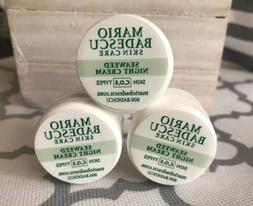 lot of 3 seaweed night cream sample