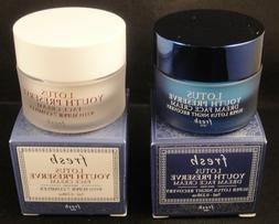 Fresh LOTUS YOUTH PRESERVE Face Cream + Dream Night Cream TR