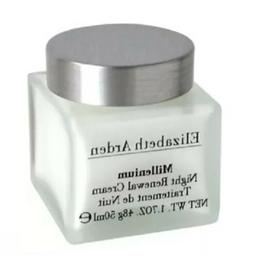 ELIZABETH ARDEN MILLENIUM  NIGHT RENEWAL CREAM  1.7 OZ/50ML