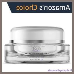 PURE BIOLOGY NIGHT CREAM | Collagen Face Moisturizer W/ Reti