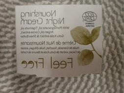 FEEL FREE~~NOURISHING NIGHT CREAM 1.69 OZ NIB EXPIRES 02/202