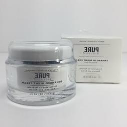 Pure Biology Premium Night Cream Face Moisturizer Retinol Co