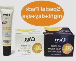 q10 antiwrinkle face cream day and night
