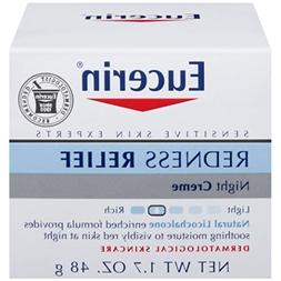 Eucerin Redness Relief Soothing Night Creme 1.7 oz / 48 g