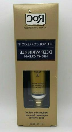 retinol correxion deep wrinkle night cream anti
