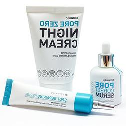 SET - Pore Corset Serum 30ml + Pore Zero Night Cream 80g +