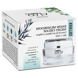 Vivo Per Lei Snow Mushroom & Peony Night Cream Collagen Mois