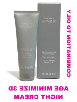 Mary Kay Timewise Age Minimize 3D Night Cream Combination to