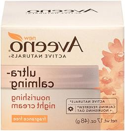 Aveeno Ultra-Calming Nourishing Night Cream, Fragrance Free,