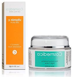 Vitamin C Serum 20% and Multi-Active Hydrating Night Cream -
